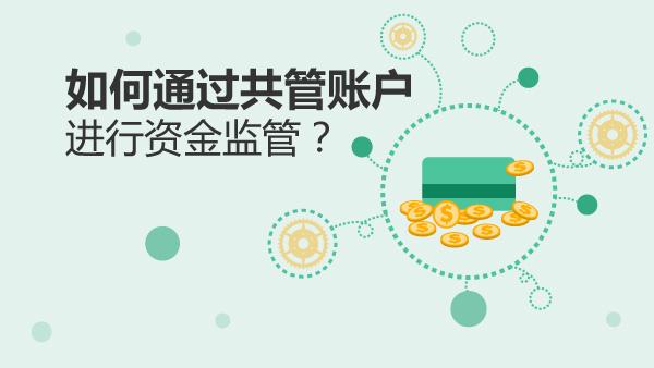 如何通过共管账户进行资金监管?