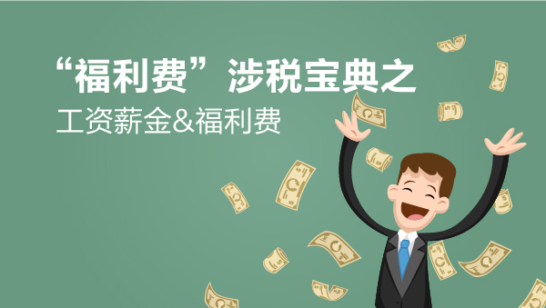 """财务经理培训网课-""""福利费""""涉税宝典之工资薪金&福利费"""