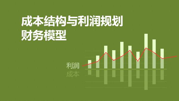成本结构与利润规划财务模型