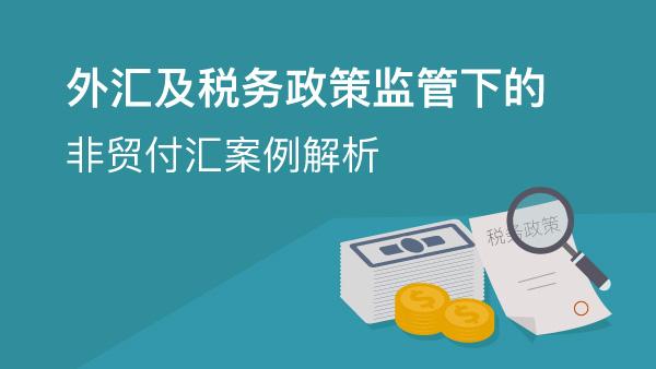 外汇及税务政策监管下的非贸付汇案例解析