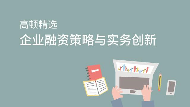 企业融资策略与实务创新