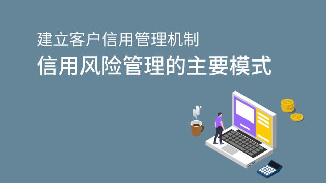 财务经理培训网课-建立客户信用管理机制——信用风险管理的主要模式