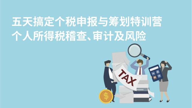 个人所得税稽查、审计及风险